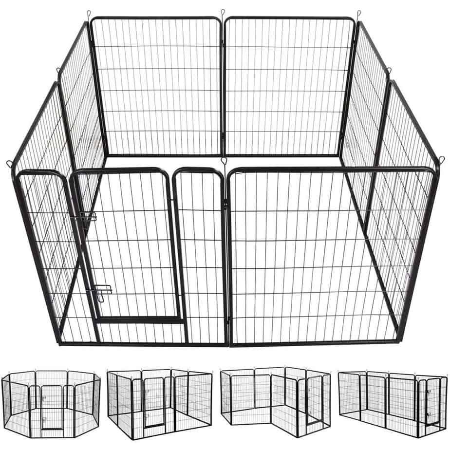 Yaheetech 40-Inch 8 Panel Heavy Duty Pets