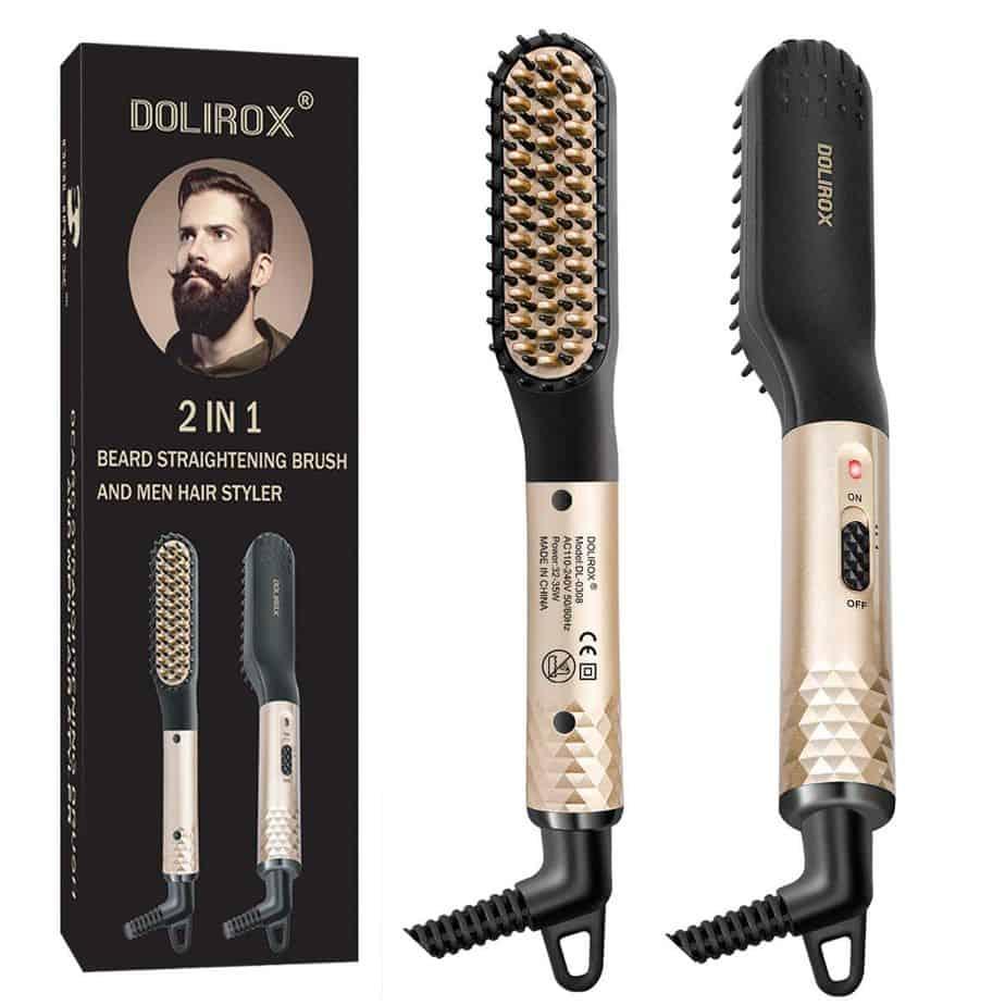 Dolirox 2 In 1 Beard Straightening