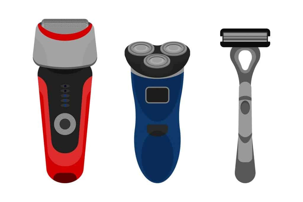 foil rotary and normal shaver