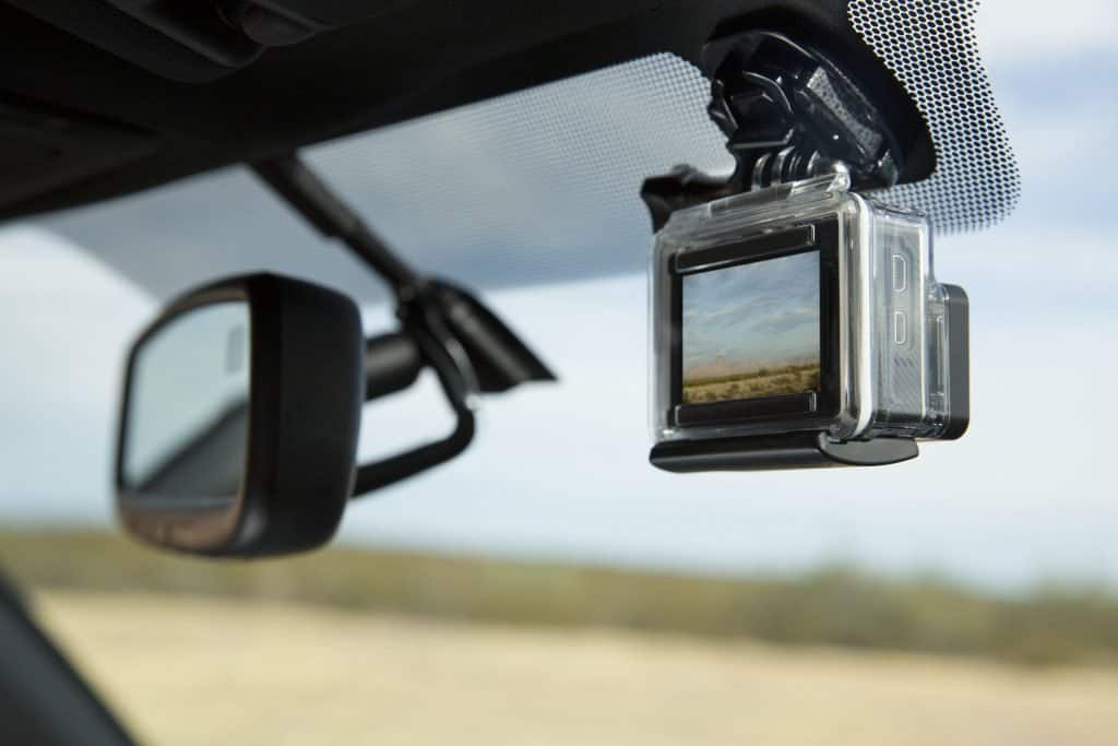 dash camera with gopro