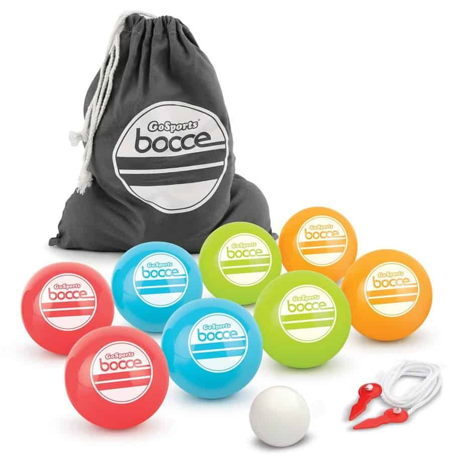 GoSports 90mm Bocce Ball Set