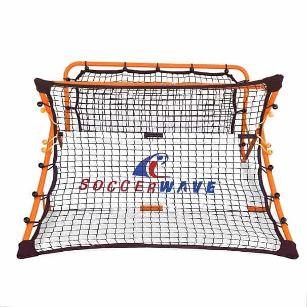 SoccerWave Jr. 2 in 1 Soccer Rebounder net