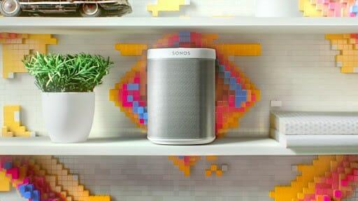 sonos speaker on table