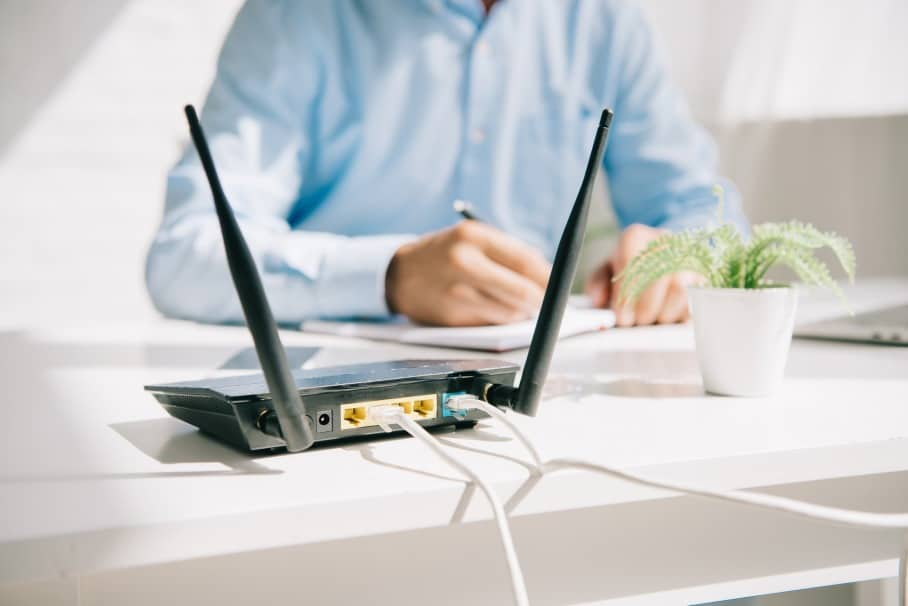 where to place the router