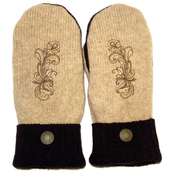 Integrity Designs Wool Mittens