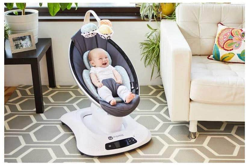 slow incline of mamaroo
