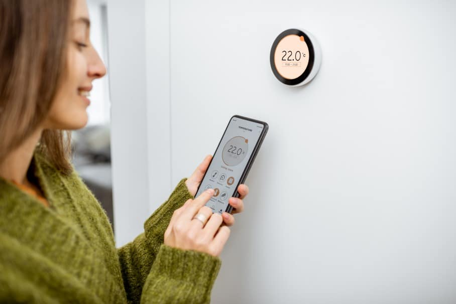 thermostat service and labour