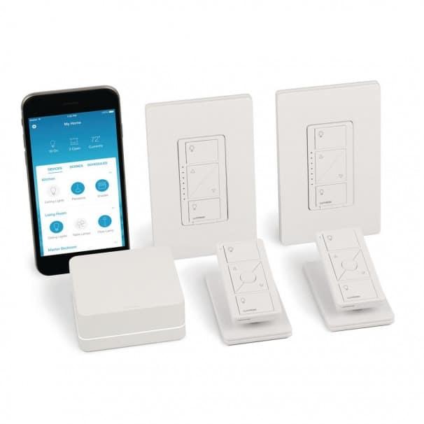 Lutron Caseta P-BDG-PKG2W-A Smart Start Kit