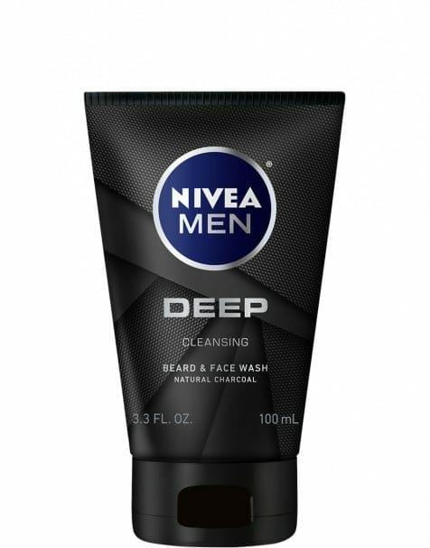 NIVEA Men DEEP Cleansing Beard & Face Wash