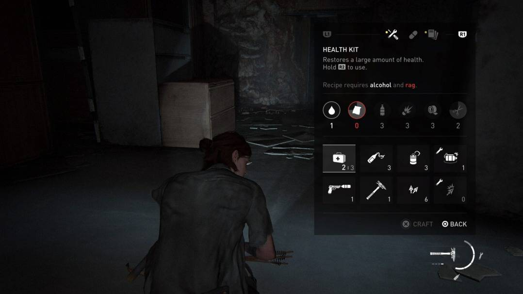 The Last of Us Part 2 Upgrading and Crafting are Key