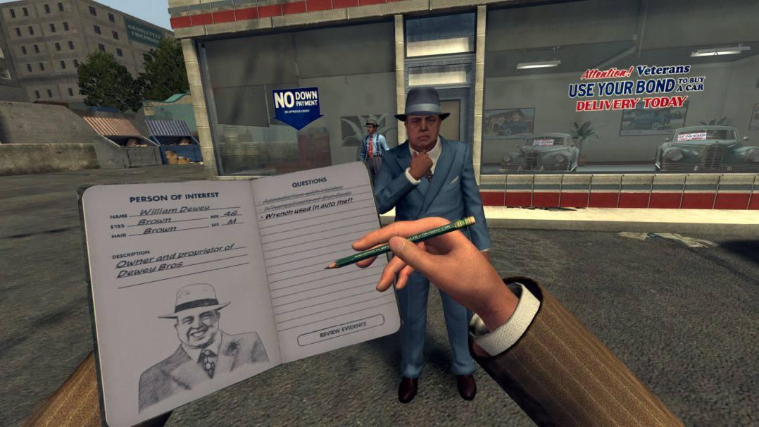 Will it be like LA Noire The VR Case Files