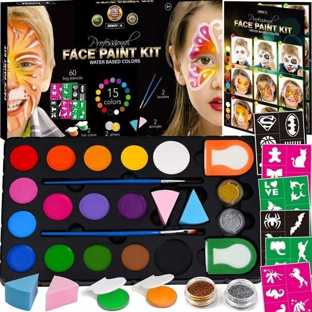 Zenovika Face Paint Kit