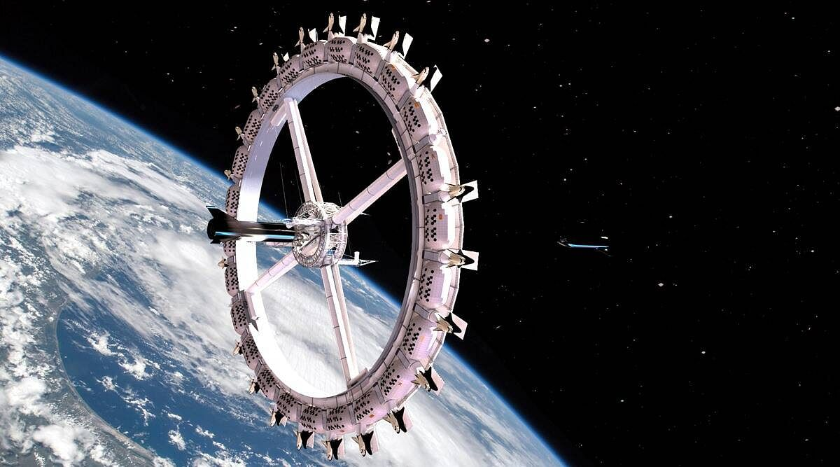 space hotel station